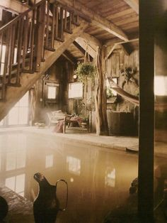 Yes! Indoor swampy pool.