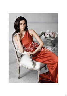 Robe de Soirée Longue-Une ligne lumineuse occasionnel robe de soirée