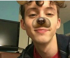 There are certain guys that can pull off the dog filter. Troye Sivan, Wattpad, Blue Neighbourhood, Dodie Clark, Shane Dawson, Queen, Beautiful Boys, My Idol, Youtubers