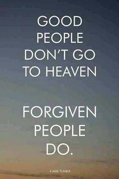 Asking for forgiveness is pretty easy!
