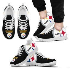 Gorgeous Logo Pittsburgh Steelers Sneakers - Votacolors - Victory of the Arts Pittsburgh Steelers Merchandise, Pittsburgh Steelers Wallpaper, Pittsburgh Steelers Football, Best Football Team, Dallas Cowboys, Steelers Jacket, Steelers Gear, Peyton Manning