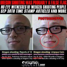 Stillness in the Storm : Oregon Shooting Was Probably A False Flag | No Eye...