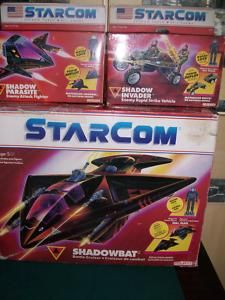 StarCom action figure vehicles