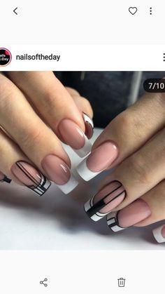 Work Nails, May Nails, Hair And Nails, Minimalist Nails, Cute Acrylic Nails, Toe Nail Art, Cowboy Nails, Belle Nails, Elegant Nail Designs