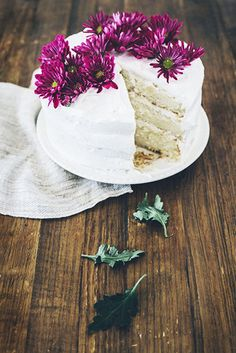 Tres Leches Cake With Coconut Chantilly Frosting // Your Guide to Hosting a Chic Cinco de Mayo Party // entertaining, parties, desserts