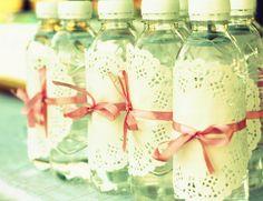 doily water bottle wraps