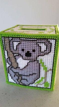 Plastic Canvas Box Patterns, Plastic Canvas Ornaments, Plastic Canvas Tissue Boxes, Plastic Canvas Crafts, Tissue Box Holder, Tissue Box Covers, Fuse Bead Patterns, Beading Patterns, Kleenex Box