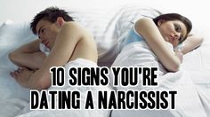 signs youre dealing with narcissist