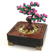 Can a MOC bring tranquility? It can if it's one as brilliant as this bonsai  by Grantmasters. The term NPU (nice part use) gets thrown around a lot, but  I have to use it here. That trunk is gorgeous, and do you know what it is?  Say hi to Groot.