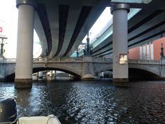 The hidden Nihonbashi Bridge under the expressway in Tokyo. I used to think it was sad how the urban sprawl covered over this gem, but now I think it makes it more special. Like a secret bridge.