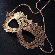 http://www.ravelry.com/projects/frankiedavis/crochet-lace-masquerade-mask
