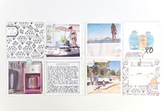Pages by Rachel DelGrosso featuring the Love Story Card Collection by Stampin' Up