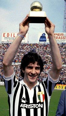 Paolo Rossi. Golden Ball 1982