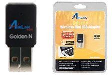 AirLink101 AWLL6075 Wireless N Mini USB Adapter by AirLink. $12.98. Extend the range of your current Airlink101 or other wireless network with new Wireless N Mini USB Adapter. The compact mini design brings you more flexibility and portability. No more hassle with complicated wireless security setup! Simply press the Easy Setup Button to connect to your encrypted wireless network. AWLL6075 Wireless N Mini USB Adapter is great for environments with the need for high-speed wireless...