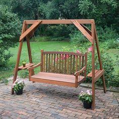 Great American Woodies Red Cedar Hanging Porch Swing Frame - 82035
