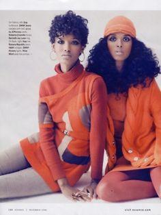 Fatima Siad and Ayan Elmi for Essence mag