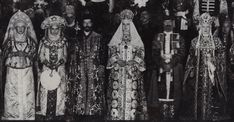 """ghosts-of-imperial-russia: """"Photo of the Imperial court assembled in the Hermitage theater for the 1903. """" This never fails to amaze me. The details. Wow."""