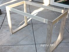 How To Build A White Modern Desk With Miter Saw And Kreg Jig 1 Diy Vanity