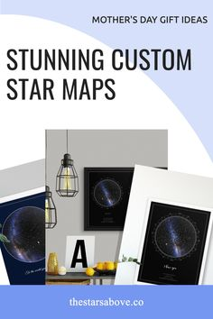 Perfect Mother's Day gift 🎁. Capture the stars ⭐ above the moment the little bundle of joy came into the world. Star Maps, Sky Images, Unique Mothers Day Gifts, Personalized Gifts, Gifts For Her, Joy, Gift Ideas, Stars, Customized Gifts
