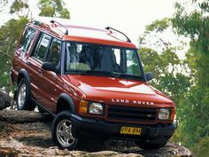 Land Rover Discovery Series II AU-spec '1998–2003