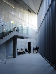 Exhibition of Tadao Ando at 21_21 Design Sight