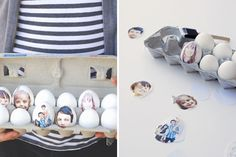 Photo print eggs | 40 Creative Easter Eggs