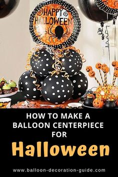 Halloween Ballon Herzstück - New Site Balloon Centerpieces Wedding, Masquerade Centerpieces, Diy Centerpieces, Balloon Decorations, Halloween Decorations, Balloon Ideas, Easy Halloween, Halloween Party, Halloween 2020