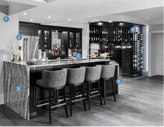 Scott Mcgillivray Home Bar And Wine Room Get The Look Living Area Dream