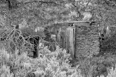 Abandoned Root Cellar, Alstown, Washington, 2013 | Click the picture above for information on purchasing a fine art photography wall print for your home. | #blackandwhite #rural