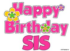 Looking for for ideas for happy birthday for her?Browse around this site for perfect happy birthday inspiration.May the this special day bring you happiness. Birthday Messages For Sister, Happy Birthday Sister, Happy Birthday Greetings, 20 Birthday, Birthday Ideas, Birthday Blessings, Birthday Wishes Quotes, Birthday Sayings, Happy Birthday Pictures