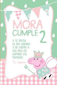 kit personalizado peppa pig Invitacion Peppa Pig, Cumple Peppa Pig, Pig Party, Ideas Para Fiestas, Mayo, Little Princess, Birthdays, Birthday Parties, Invitations