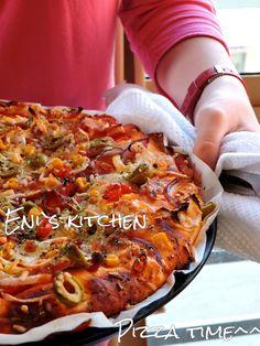 Eni´s Kitchen: ¡Pizzas con mucha miga o masa americana !