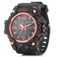 Gentle Swim Men Sports Watches Digital Double Time Chronograph Watch 50m Waterproof Week Display Alarm Japan Quartz Clock G Skmei 1270 Children's Watches