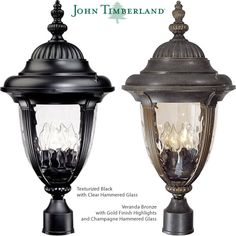 John Timberland Bellagio Carriage Style Outdoor Post Lights Led Path Lights, Outdoor Hanging Lights, Outdoor Post Lights, Outdoor Wall Lighting, Outdoor Walls, Landscape Lighting Kits, Glass Material, Clear Glass, Timberland