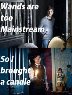 Wands are too mainstream