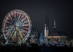 Luxembourg  @ Xmas by Mike Kremer on 500px