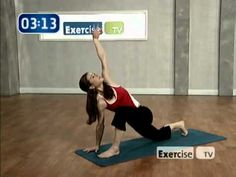 10 min AM Yoga workout.  A great way to stretch out when you wake up.