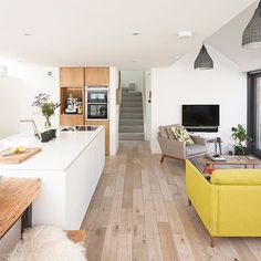 The homeowners of this coach house conversion swapped their Georgian flat in Edinburgh for a house with a garden further out of the city taking on a renovation and extension project with a budget of under 170K . Photo: David Barbour . #homebuilding #selfbuild #extension #kitchendecor #kitchen #kitchendesign #diningroom #interior #design #instahome #scotland #homesweethome #myhomevibes #amazinghomes #dreamhome #inspiration #scandimodern #scandinavianstyle