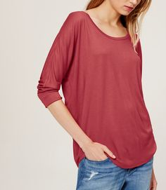 Thumbnail Image of Color Swatch 5332 Image of Drapey Dolman Tee