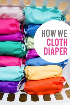 Great article for those interested in cloth diapering. She's honest and covers the ins and outs of fluffing baby buns!