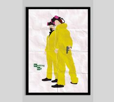 Breaking Bad Poster Print Walter White Jesse Pinkman by POSTERED, $15.00 AUD