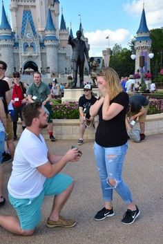 So obsessed with this surprise marriage proposal at Disneyland! The full story is absolutely amazing.