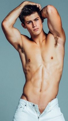 Male Model, Good Looking, Beautiful Men, Handsome, Hot Guy, Cute Boy, Sexy, Eye Candy, Muscle, Armpits, Abs, Six Pack, Shirtless 男性モデル