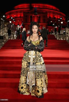 Twigs attends The Fashion Awards 2017 in partnership with Swarovski at Royal Albert Hall on December 4, 2017 in London, England.