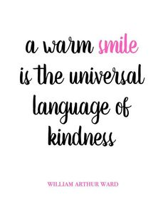 A warm smile is the universal language of kindness #naturalskincare #healthyskin…