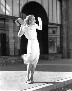 Actress Carole Lombard