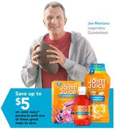 FREE $5 Joint Juice Printable Rebate Forms!