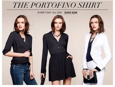 portofino shirt from Express