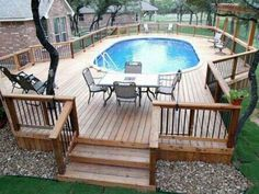 I want to draw attention to the deck gates! Do they slid or swing close? Pool or not, i'd like to have them installed on my decks and stairs, for munchkin safety!