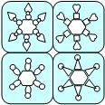 Printable Activity-Print cards and have children create the snowflake on the card from Making Learning Fun